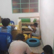 Weekly Discipleship classes in the Engadi Transformation Center