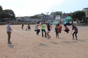 Jump rope competitions in Paraíso